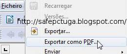 como fazer um documento pdf