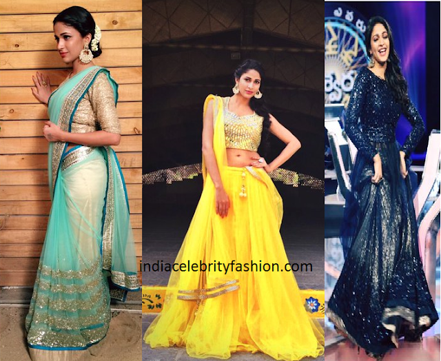 Lavanya Tripathi Different looks for Soggade Chinni Nayana Promotions