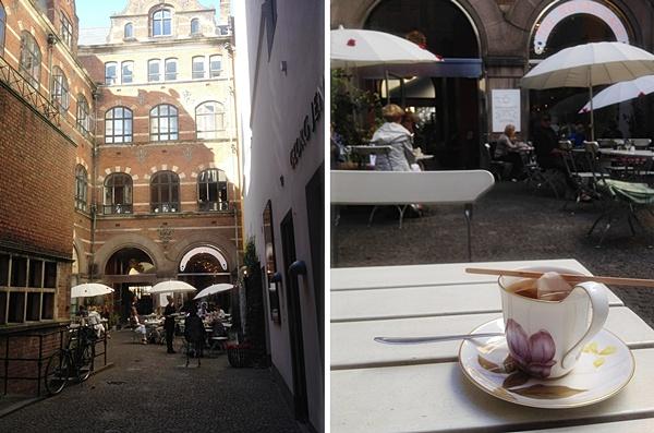 Дания Копенгаген прогулки улицы  Royal Copenhagen фарфор