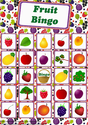 fruit bingo game