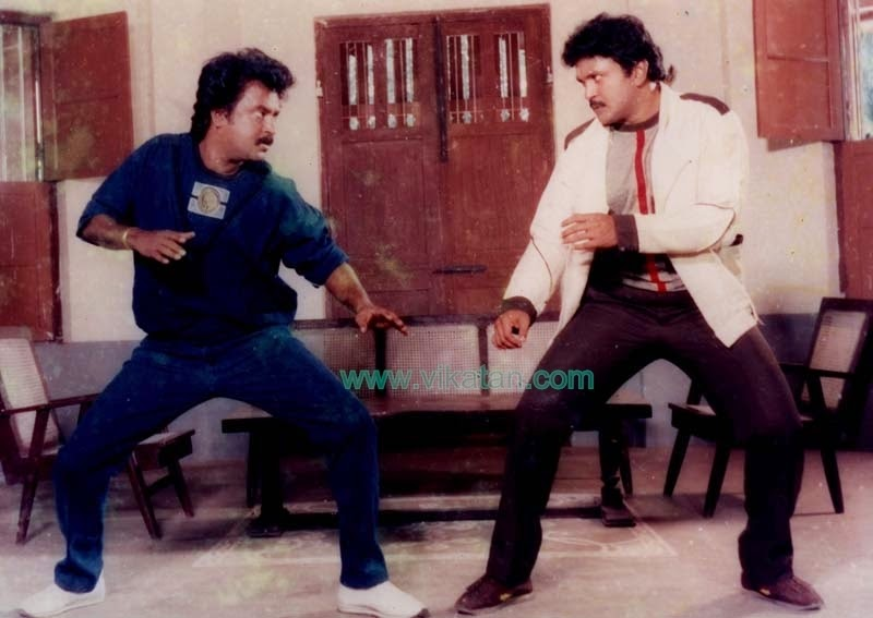 RAJINIKANTH & PRABHU IN 'GURU SHISYAN' MOVIE