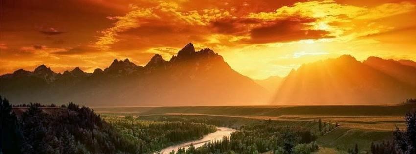 Image de couverture pour facebook original paysage fantastique