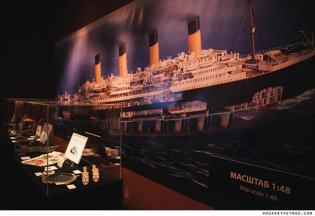 Титаник в разрезе (масштаб 1:48)
