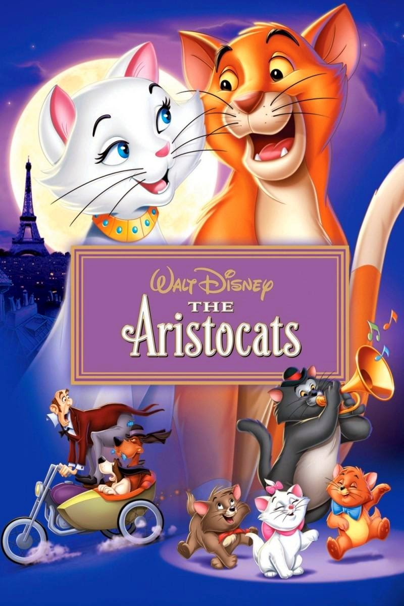 The Aristocats 1970 animatedfilmreviews.filminspector.com