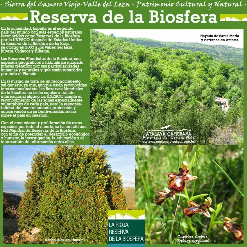 Sierra del Camero Viejo: Reserva de la Biosfera y Reserva Starlight