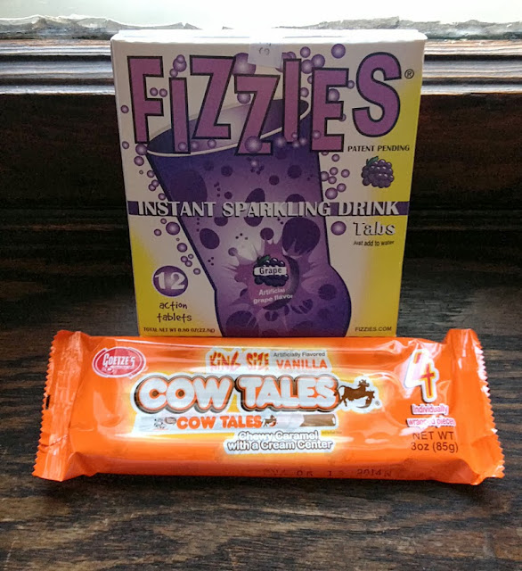 Fizzies and Cow Tails