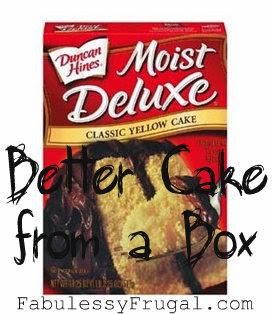 Duncan Hines Pudding Cake Recipe