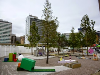 Putt Putt #2 by TURF Projects was a temporary art installation minigolf course in Croydon