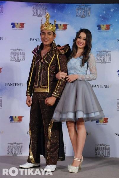 Gambar Artis Anugerah Skrin 2012 9 November 2012