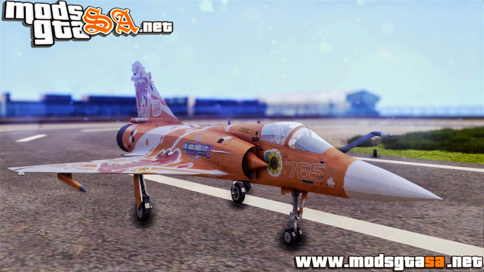 SA - Dassault Mirage 2000-5 The Idol Master 2
