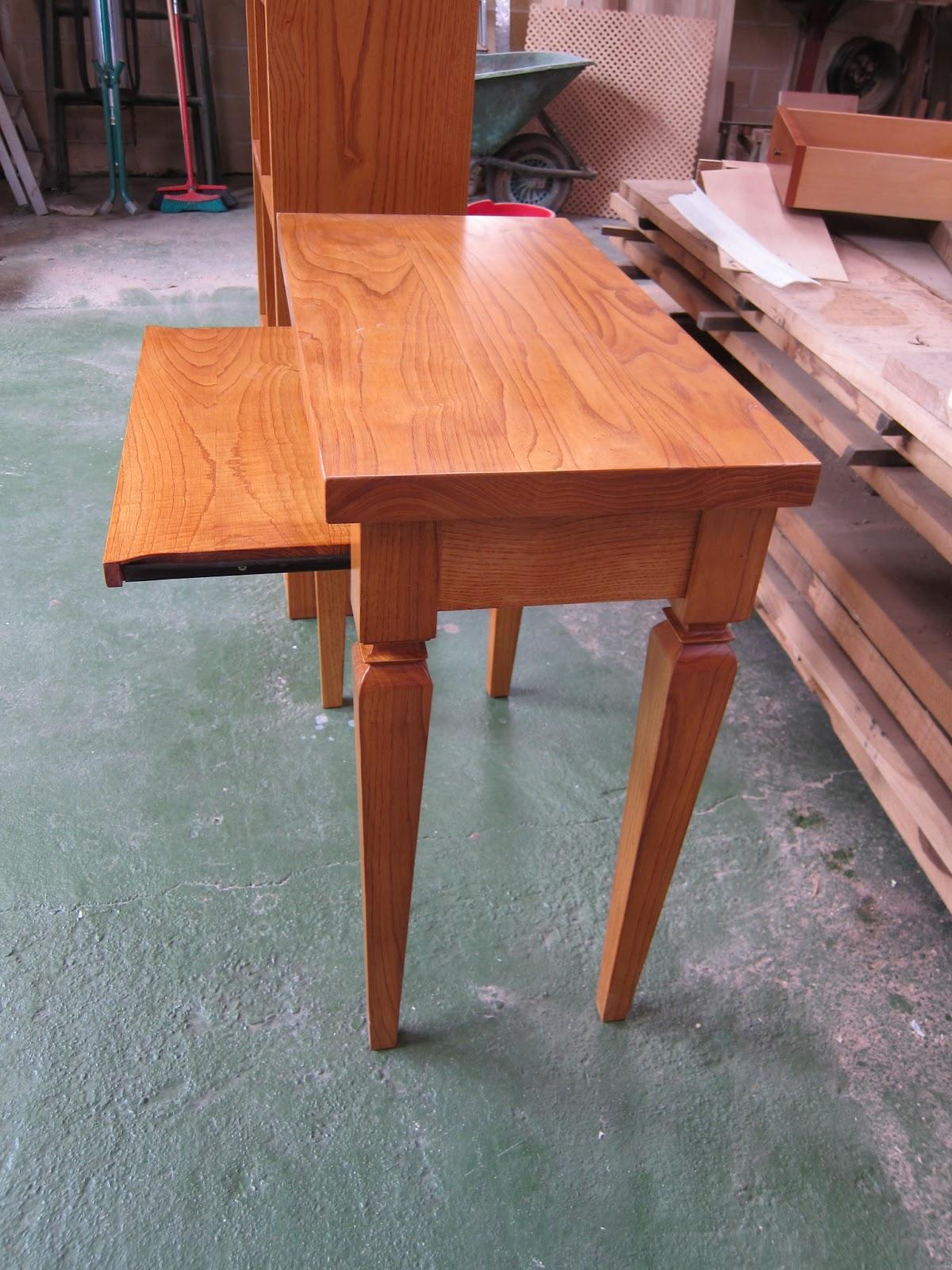 Carpinter a y toneler a muebles de madera de casta o - Muebles de castano ...