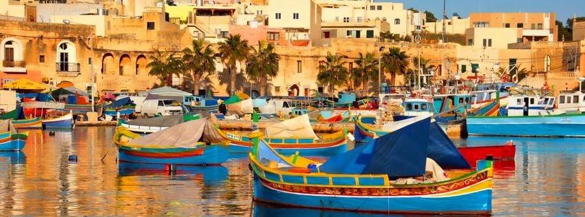 Magnifique couverture facebook malta