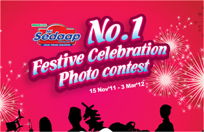 Mi Sedaap 'No.1 Festive Celebration' Contest