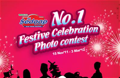 Mi Sedaap 'No.1 Festive Celebration' Contest