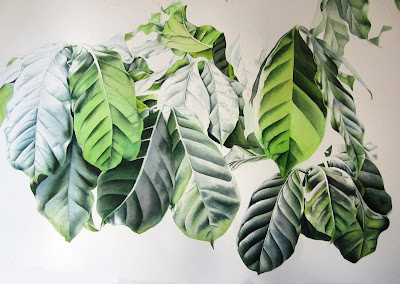 Coffee Plant Painting