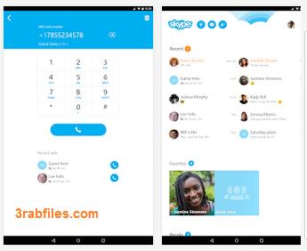 تحميل برنامج سكايب لهواتف وأنظمة أندرويد أحدث إصدار Skype - free IM & video calls ABK