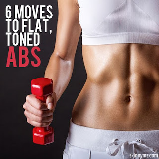 6 Moves to Flat, Toned ABS