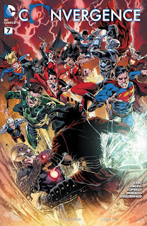 Cover of Convergence #7 from DC Comics