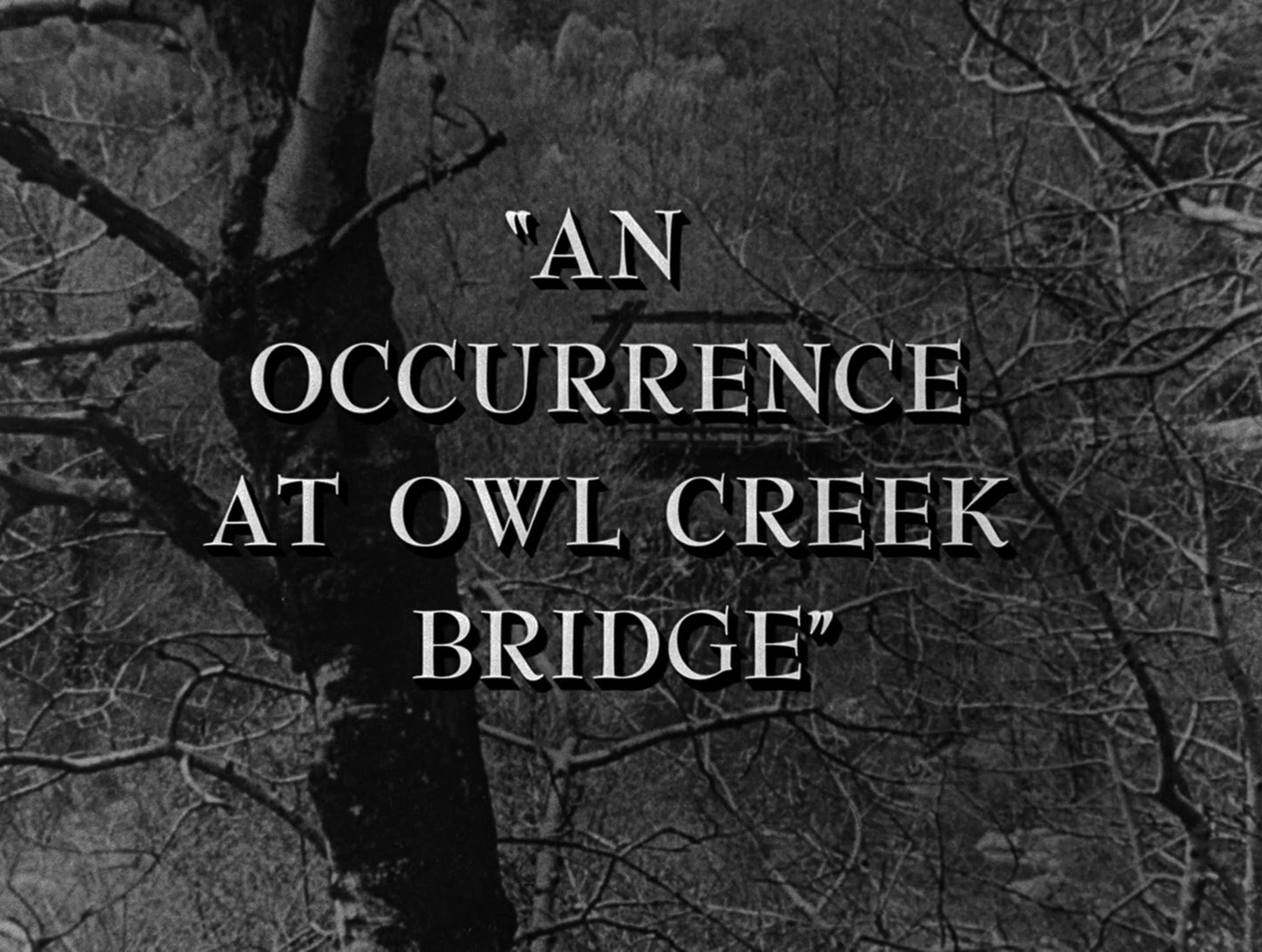 an analysis of ambrose bierces short story an occurrence at owl creek bridge An occurrence at owl creek bridge: literary analysis an occurrence at owl creek bridge, a short story with a setting during the civil war, was written by ambrose bierce in 1890 the main character, peyton farquhar, is caught messing with the bridge and is sentenced to hang.