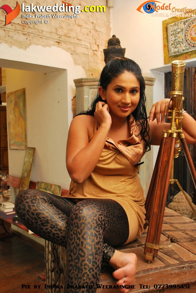 Anjali Purnika Mallawarachchi New Photos | actress boobs pressed