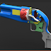 3D Revolver: In Memory of Japanese Revolver Maker
