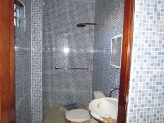 Banheiro dos apartamentos