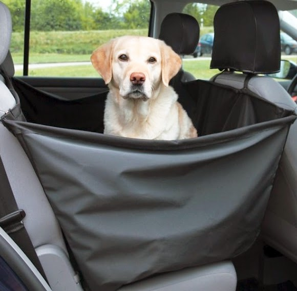 Dog car seat cover image