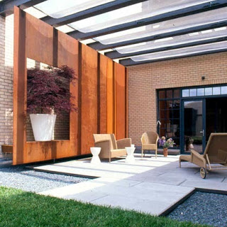 Decoraciones y mas modernas terrazas para tu casa en el 2013 for Modelos de casas con terrazas modernas