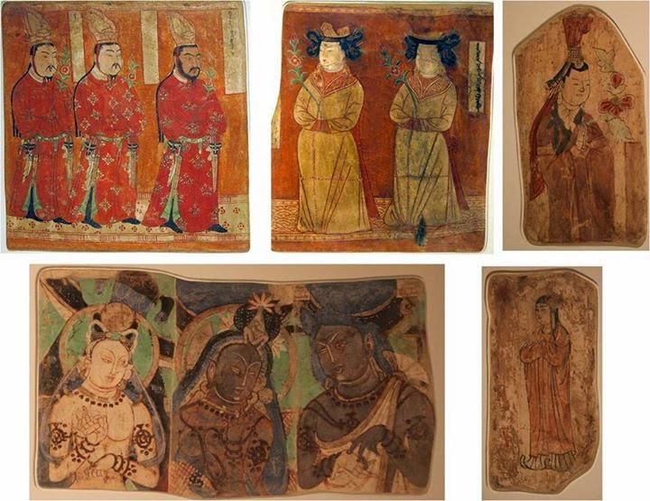 Uygur Duvar Resimleri, Bezeklik ve Kızıl Mağarası, Asya Medeniyetleri Müzesi Dahlem-Berlin Almanya