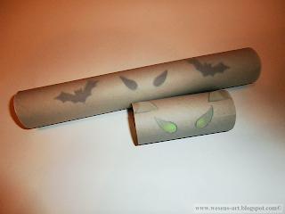 spooky paper rolls 07     wesens-art.blogspot.com