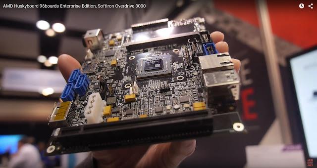 AMD Huskyboard closeup