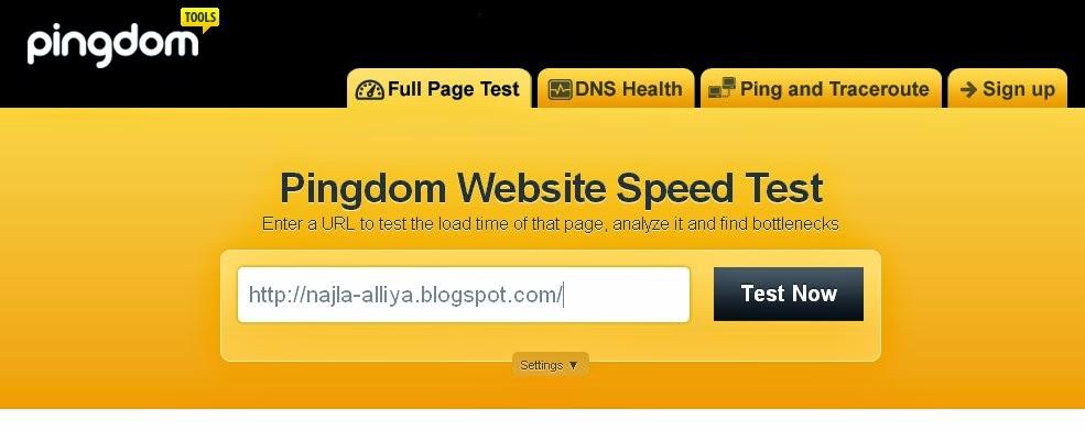 Cara Cek Speed Website dengan Pingdom