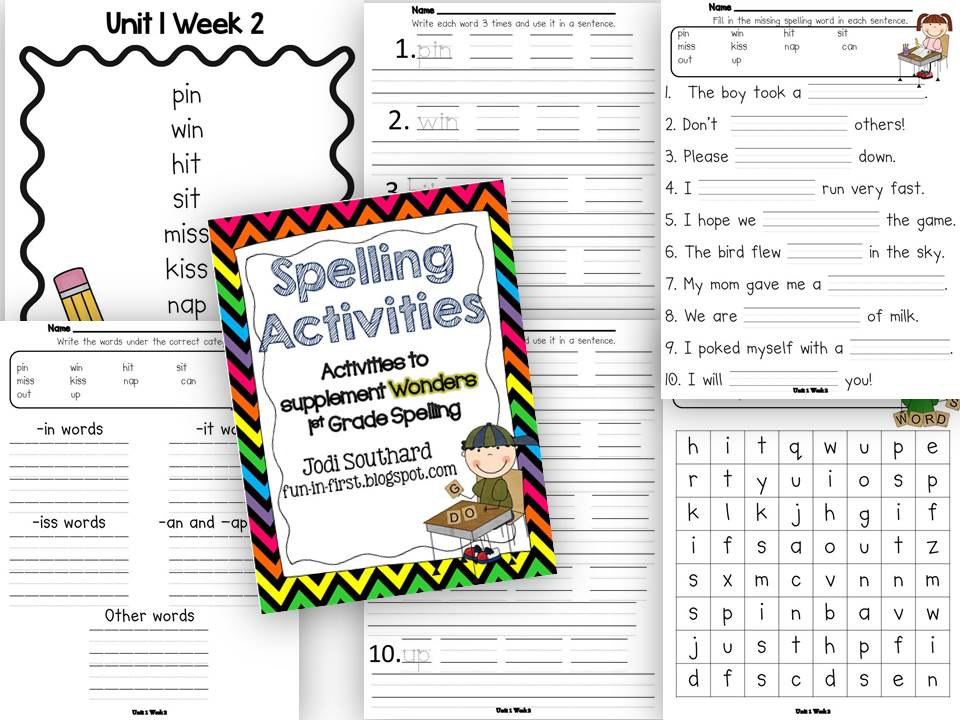 Spelling homework, Spelling and Homework on Pinterest