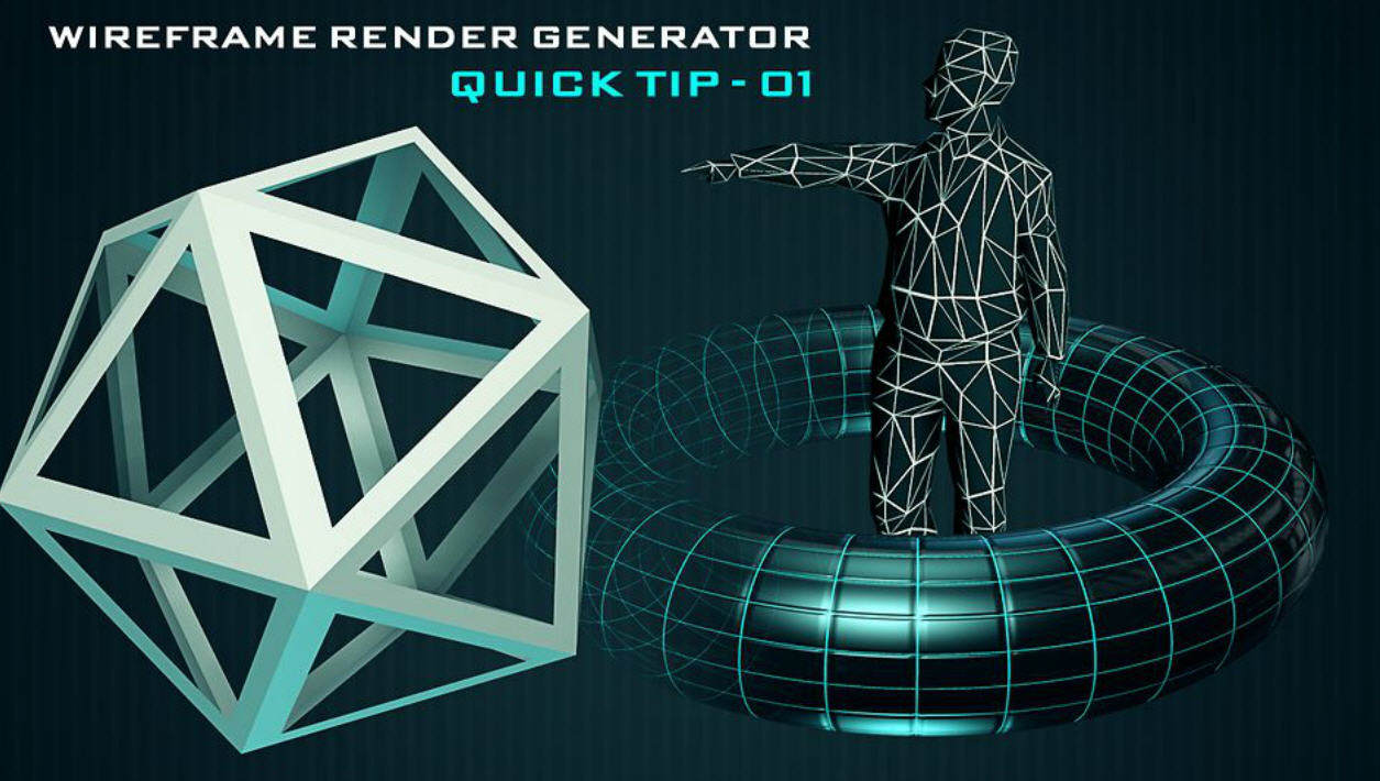 Wireframe Generator Tool For CINEMA 4D