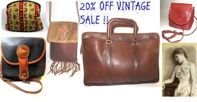 Vintage Purse Sale