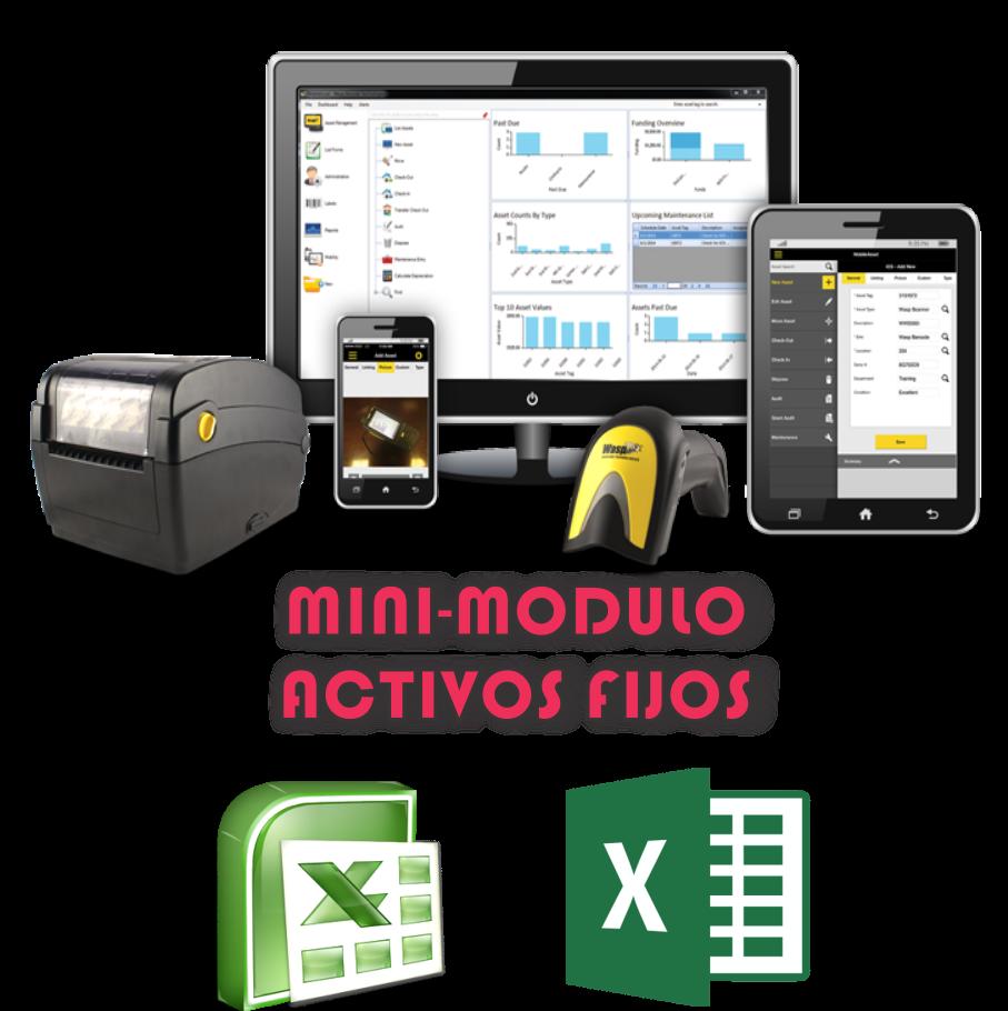 Mini-Modulo Activos Fijos Excel V 1.0