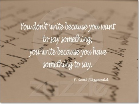 f scott fitzgerald writing techniques Need inspiration and courage to keep writing heed the great authors of the days of yore these writing tips and quips are from zelda and f scott fitzgerald (he.