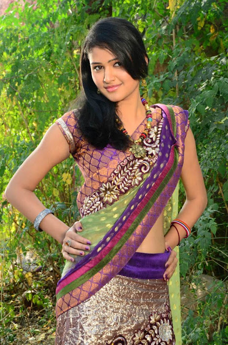 kausalya in saree hot photoshoot