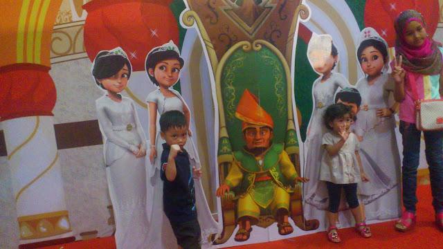 Booth Puteri di Karnival Upin & Ipin