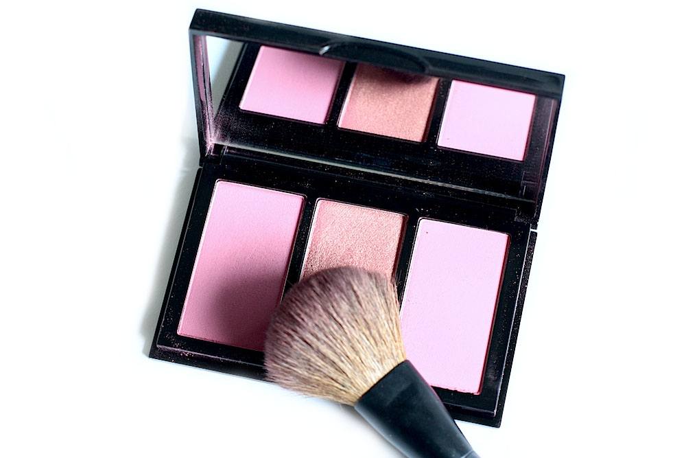 bobbi brown berry cheek palette blush trio avis test swatch