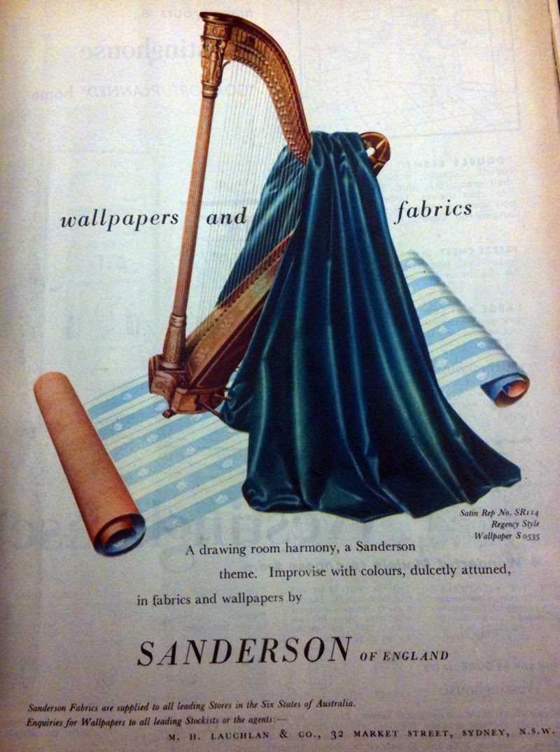 Retro Active Critiques Vintage Ads How Sanderson S Home Decor