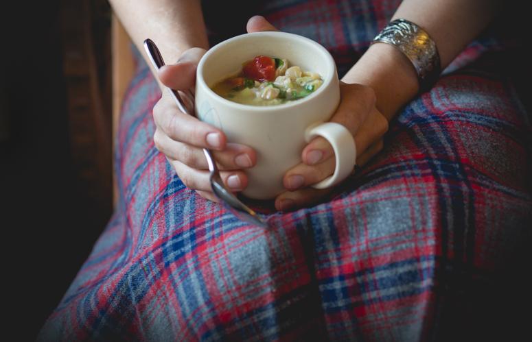 cup of soup tartan