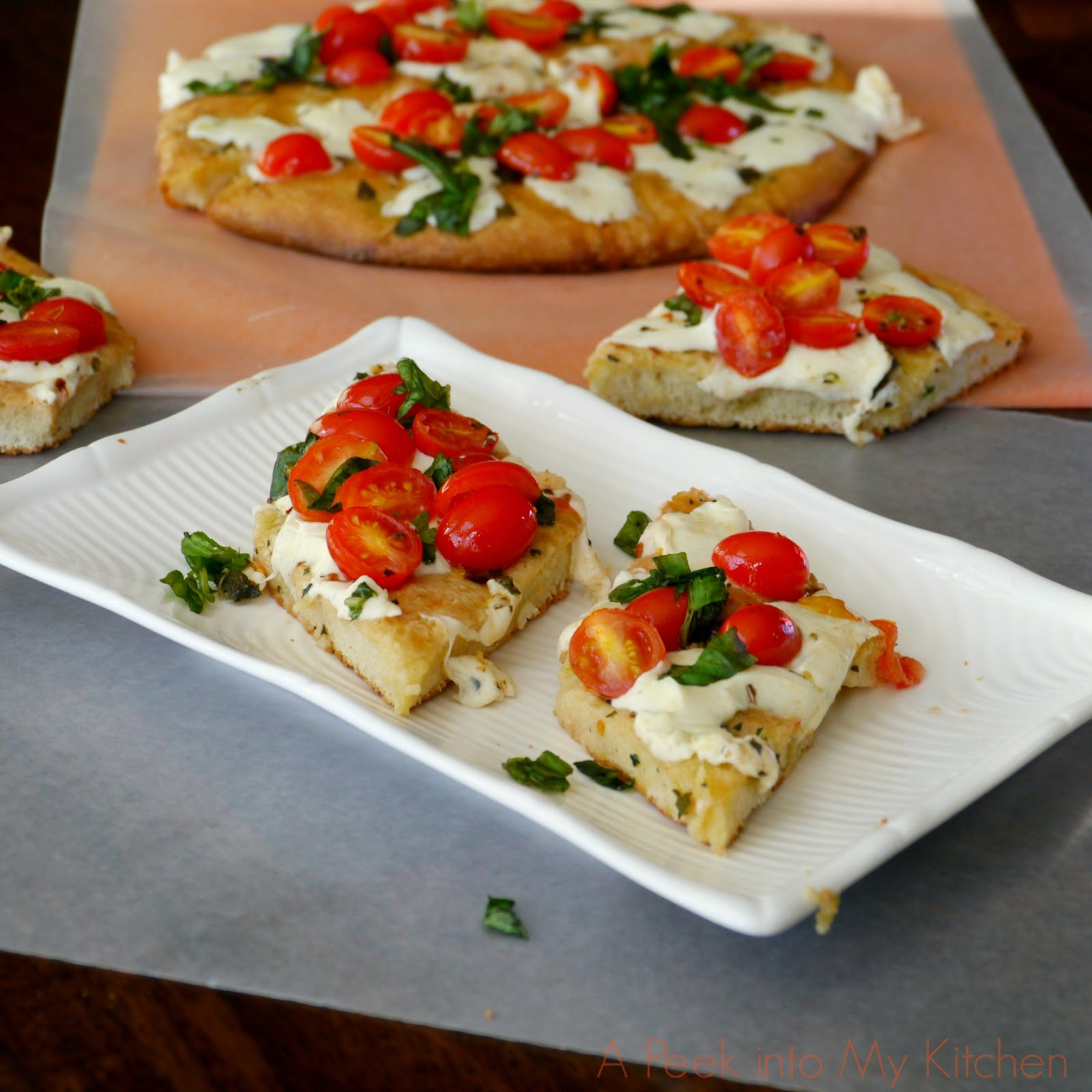 A Peek Into My Kitchen Focaccia Caprese We Knead To Bake 13