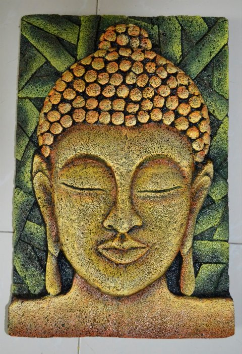 Art carft and hobby siporex gautam buddha 39 s mural for Buddha mural art