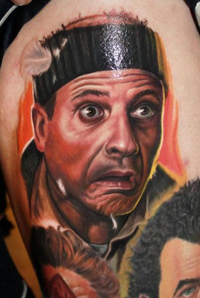 filmes, tatuagens, imagens, cinema, esqueceram de mim, 25 tatuagens baseadas em filmes, arte corporal cinematográfica, eu adoro morar na internet