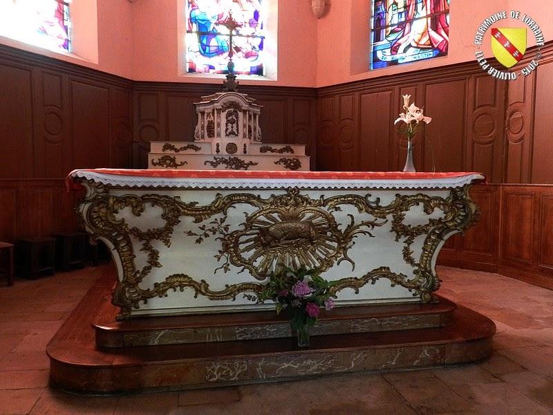 BAINVILLE-SUR-MADON (54) - Eglise Saint-Martin