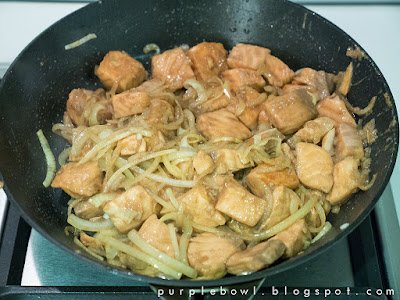 Easy stir fry salmon recipe