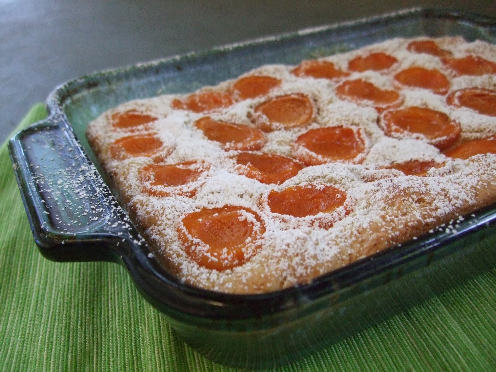 Gluten Free in SLC: Fresh Apricot Coffee Cake