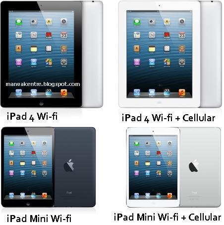 iPad 4  / iPad Mini