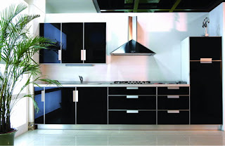 Kitchen Cabinet Black